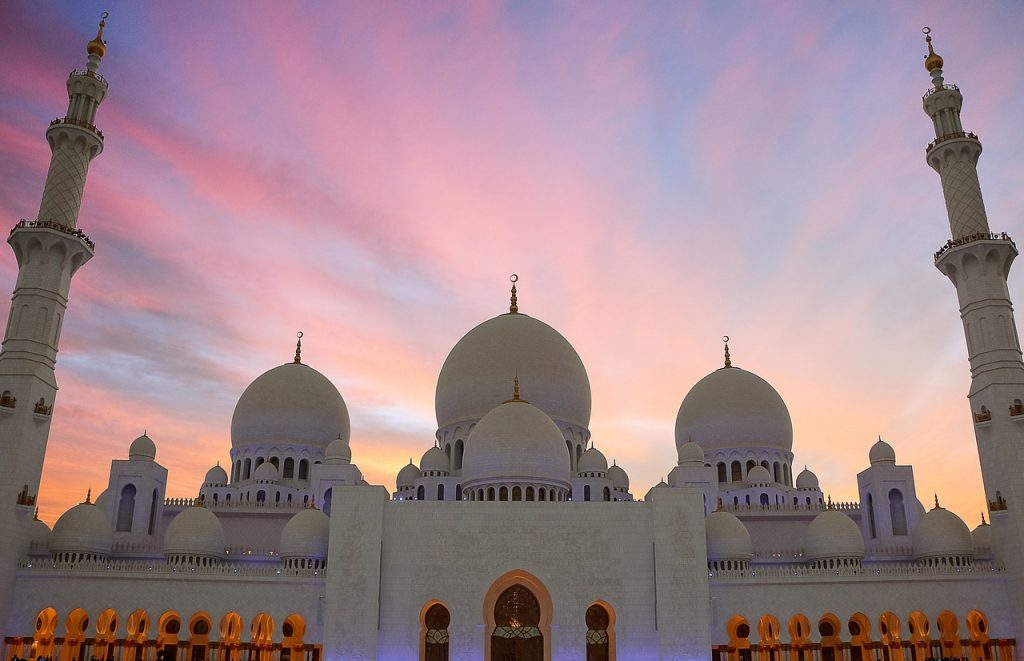 sheikh zayed mosque, grand mosque, masjid