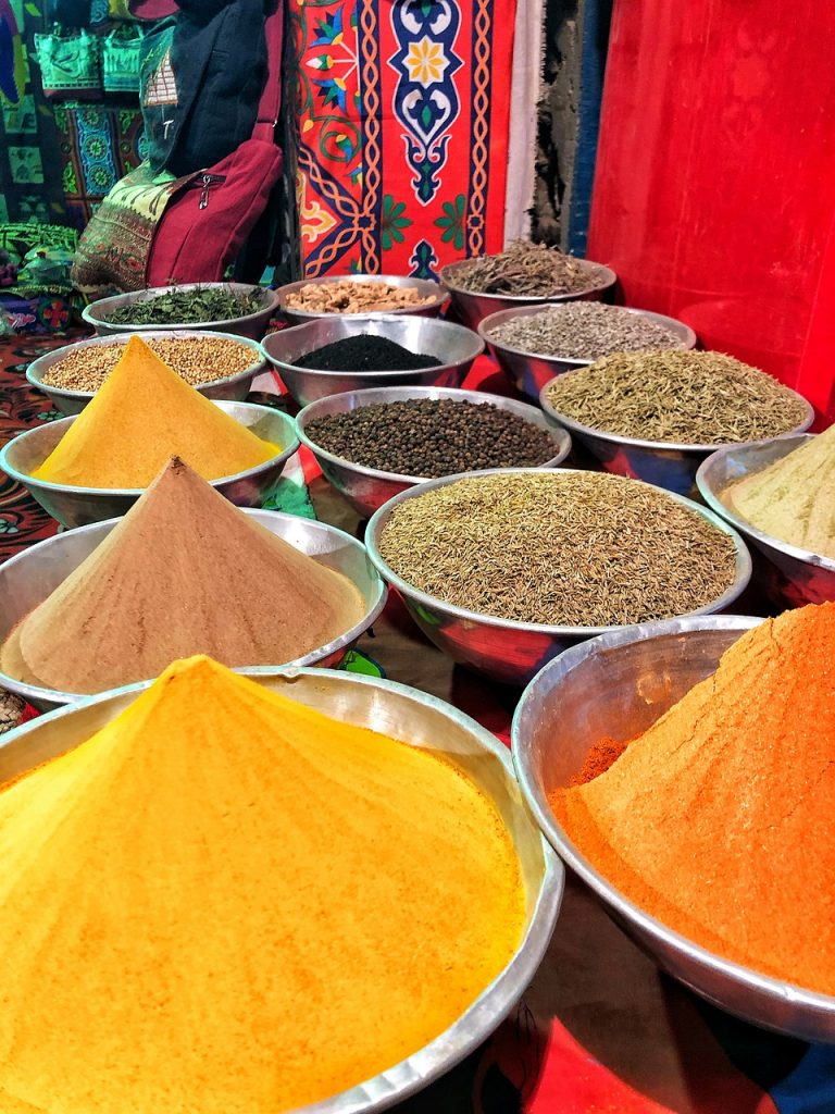 spices, africa, egypt