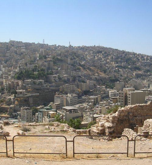 amman, jordan, citadel hill