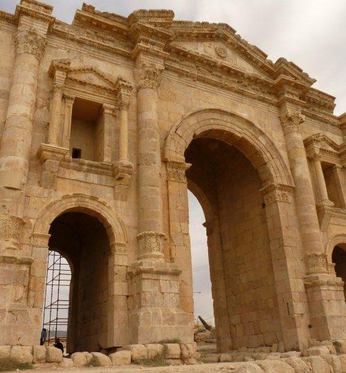 temple of artemis, gerasa, jerash